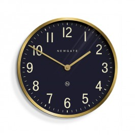 Newgate Wall Clock Mr Edwards Gold Brass