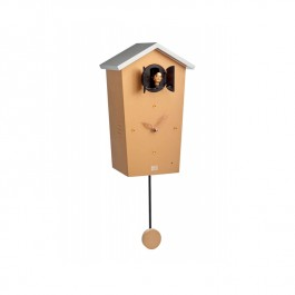 Modern Cuckoo Clock Copper Wooden