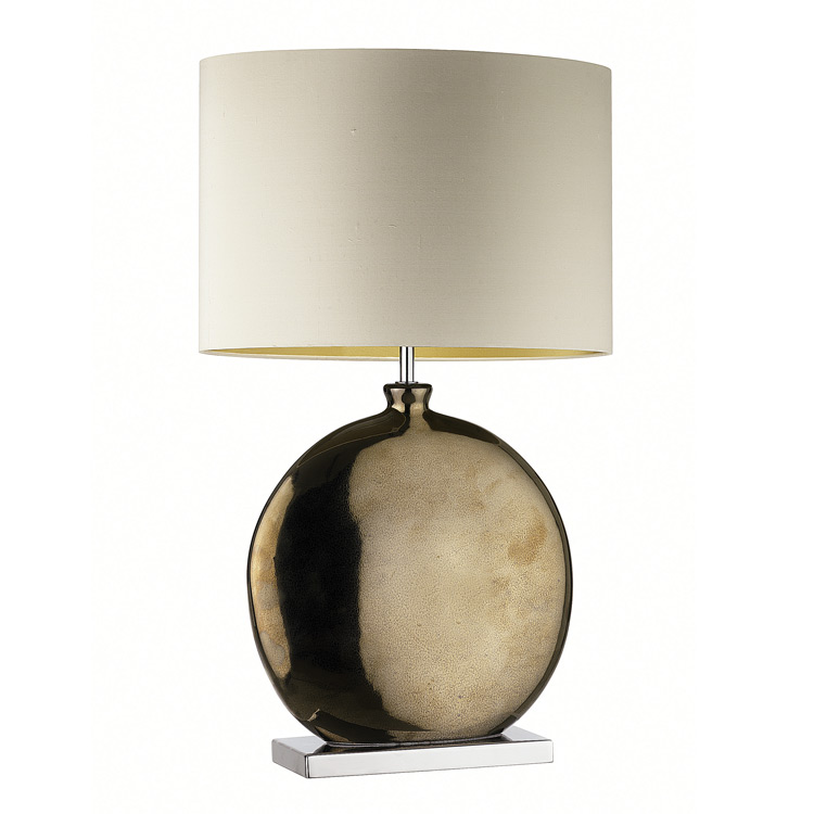 Contemporary Indoor Lighting | Heathfield Valencia Bronze Table Lamp