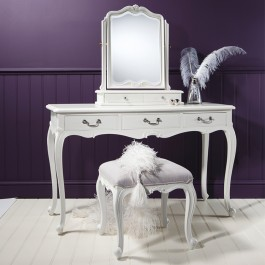 Frank Hudson Chic White Dressing Table Set