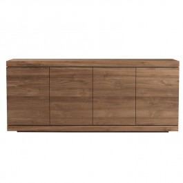 Ethnicraft Teak Large Sideboard Burger 4 Door