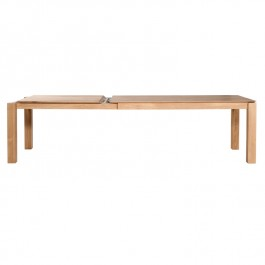 Ethnicraft Large Extending Oak Table Slice