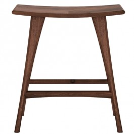 Ethnicraft Walnut High Stool Osso