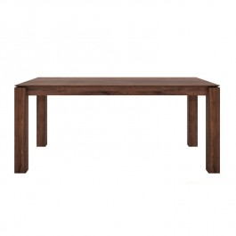 Ethnicraft Modern Walnut Extending Table Slice