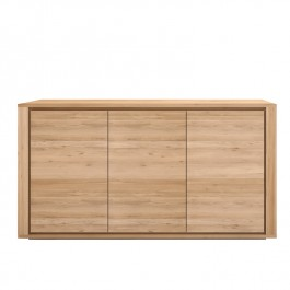Ethnicraft Oak Sideboard Shadow 3 Door
