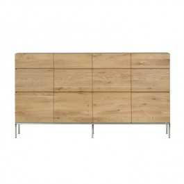 Ethnicraft Large Oak Sideboard Ligna