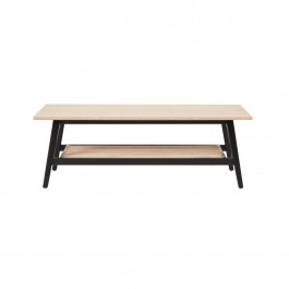 Conran Groove Limed Oak & Black Coffee Table
