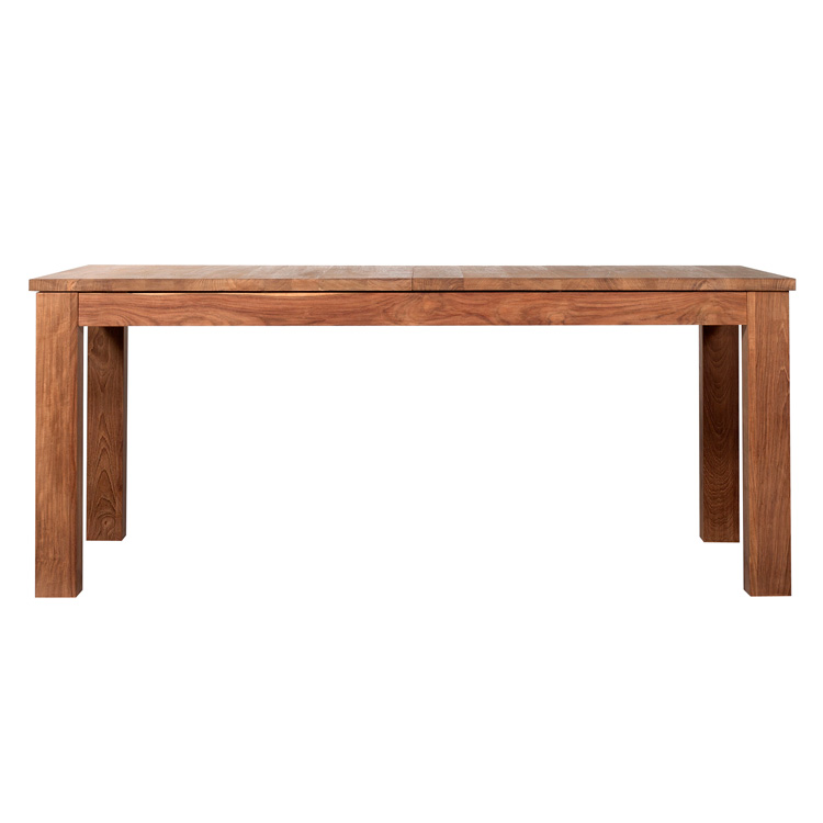 Innovative Homes Ethnicraft Extending Stretch Teak Dining Table