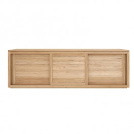 Ethnicraft Oak 3 Door Sideboard Pure