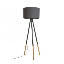 Highland Tripod Dark Grey Floor Lamp Zuiver