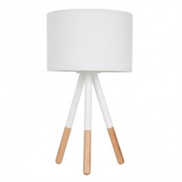 Highland Tripod White Table Lamp Zuiver