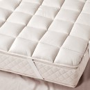 Prolana Cesena Light Organic Wool Mattress Topper (lifestyle, detail)