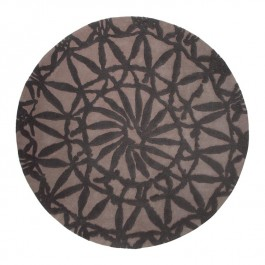 Mocha Patterned Rug - Oriental Lounge