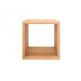 Ethnicraft Oak Cube Table