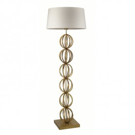 Heathfield Gold Floor Lamp - Rollo
