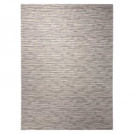 Grey Woollen Rug - River Flow