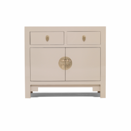Chinese Lacquer Sideboard Oyster Grey medium