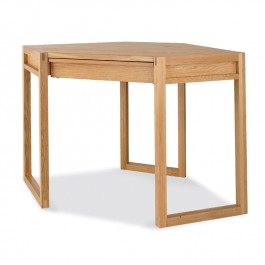 Oak Corner Desk - Studio