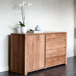 Ethnicraft Solid Teak Sideboard Lodge