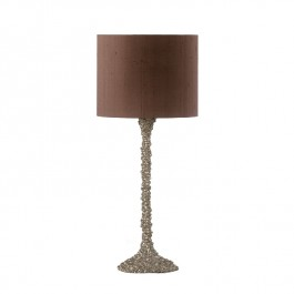 Heathfield Nickel Table Lamp - Helene