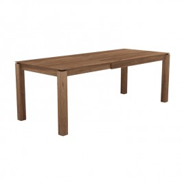 Extendable Dining Table Slice Solid Teak Ethnicraft