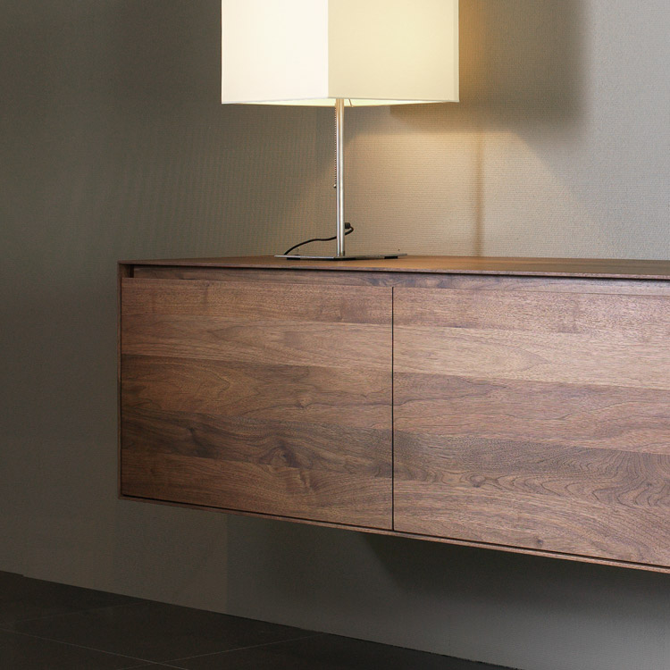 Kluskens Solid Walnut Sideboard Bellagio Walnut Bedroom