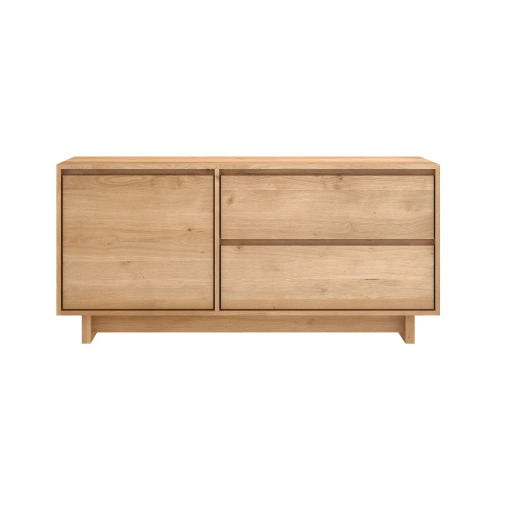 Wave Oak Contemporary Tv Unit Ethnicraft Furniture At 4living # Ethnicraft Meuble Tv