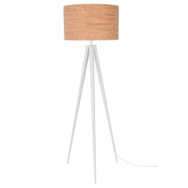 Tripod Cork Floor Lamp Zuiver
