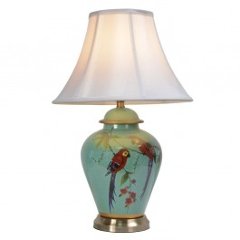 Courting Parrots Lamps