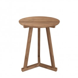 Ethnicraft Teak Side Table Tripod