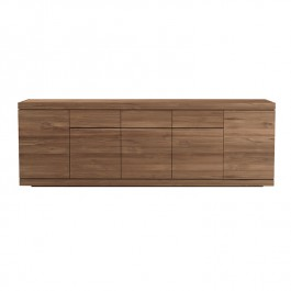 Ethnicraft Large Teak Sideboard Burger
