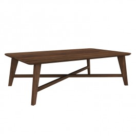 Ethnicraft Coffee Table Osso Walnut