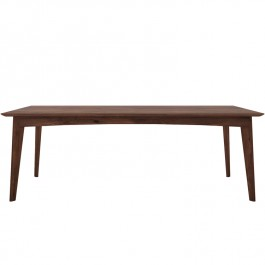 Ethnicraft Modern Walnut Dining Table Osso