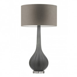 Heathfield Elenor Graphite Lamp Heathfield