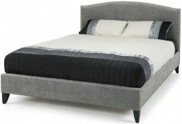 Serene Charlotte Steel Fabric Bed
