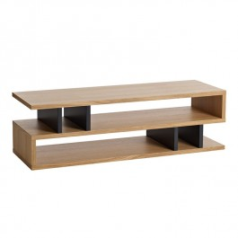 Conran Counter Balance Coffee Table - Oak & Charcoal