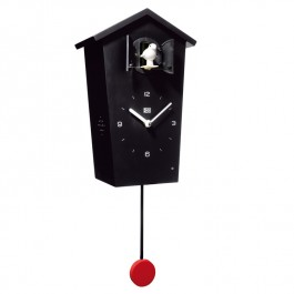 Modern Cuckoo Clock - Black Wooden