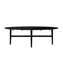 Ethnicraft Oak Table Blackstone Ellipse