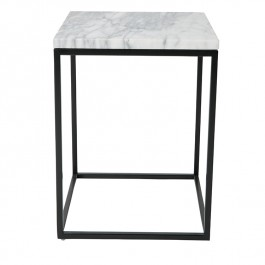 Marble Cube Side Table Zuiver
