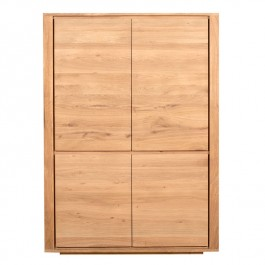 Ethnicraft Oak Storage Cabinet Shadow - clearance