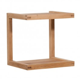 Ethnicraft Oak Sofa Side Table Frame