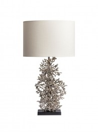 Heathfield Nickel Table Lamp - Atolli