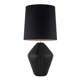 Heathfield Hericus Antique Ebony Lamp Heathfield
