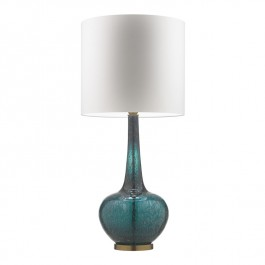 Heathfield Grace Tuscan Teal Lamp Heathfield