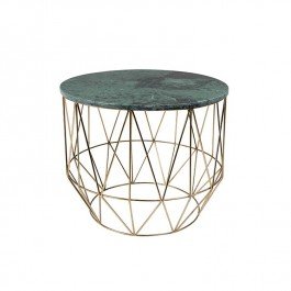 Dutchbone Boss Round Side Table Marble