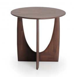 Ethnicraft Teak Geometric Side Table