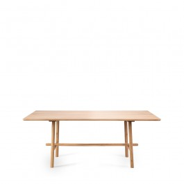 Ethnicraft Profile Oak Dining Table
