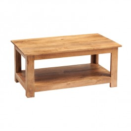 Toko Light Mango Shelf Coffee Table