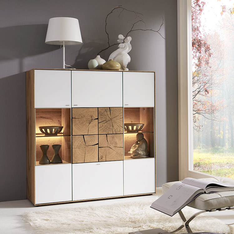 Hartmann Caya Highboard | Solid Wood Furniture