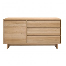 Ethnicraft Oak Sideboard Wave